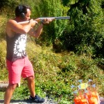 Stray Bus New Zealand Review - Skeet Shooting Blue Duck Station