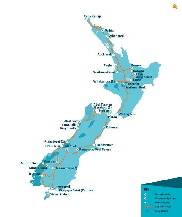 Maximus Pass Stray NZ Map