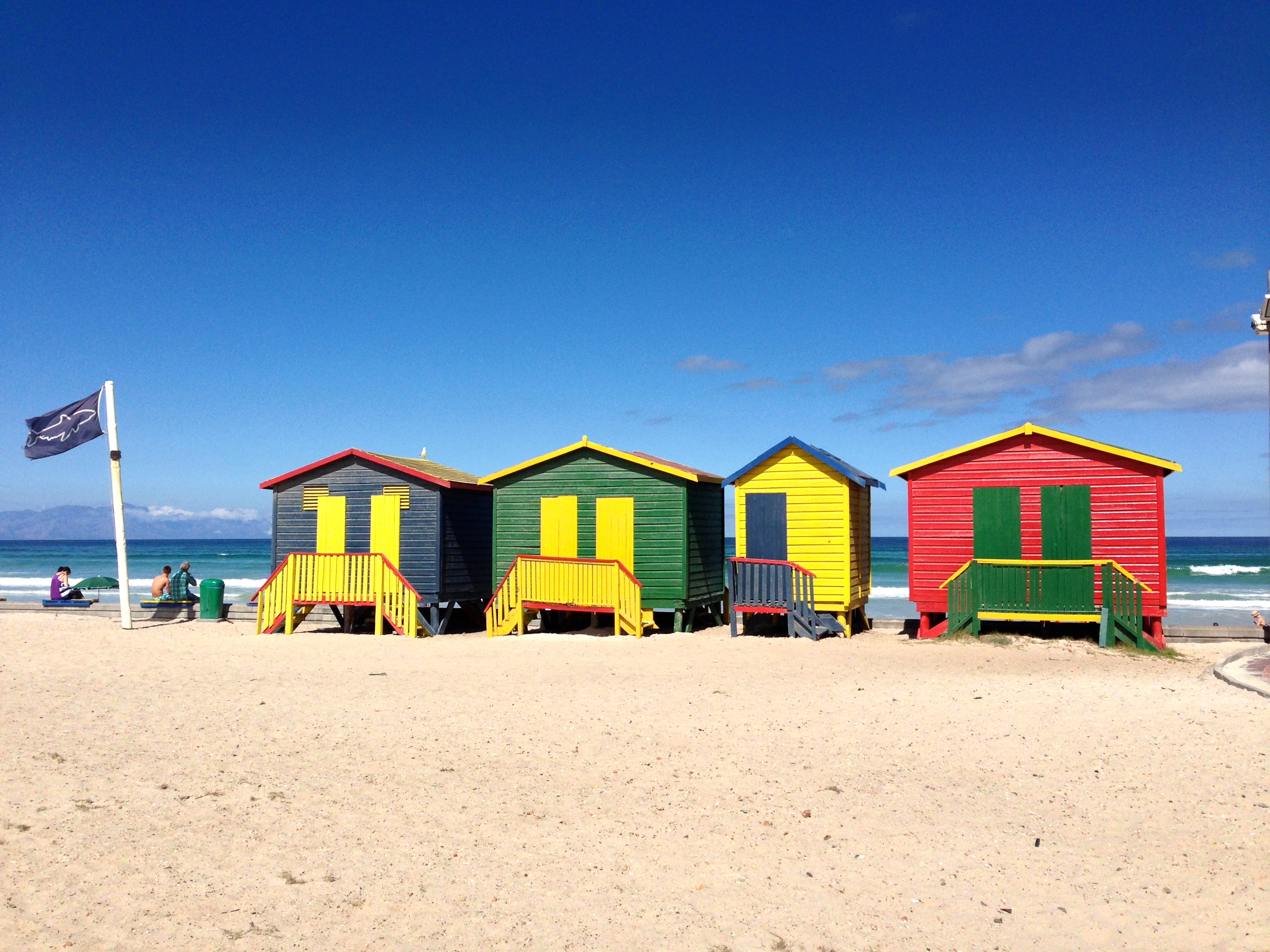 Changing Stations at Muizenberg Beach