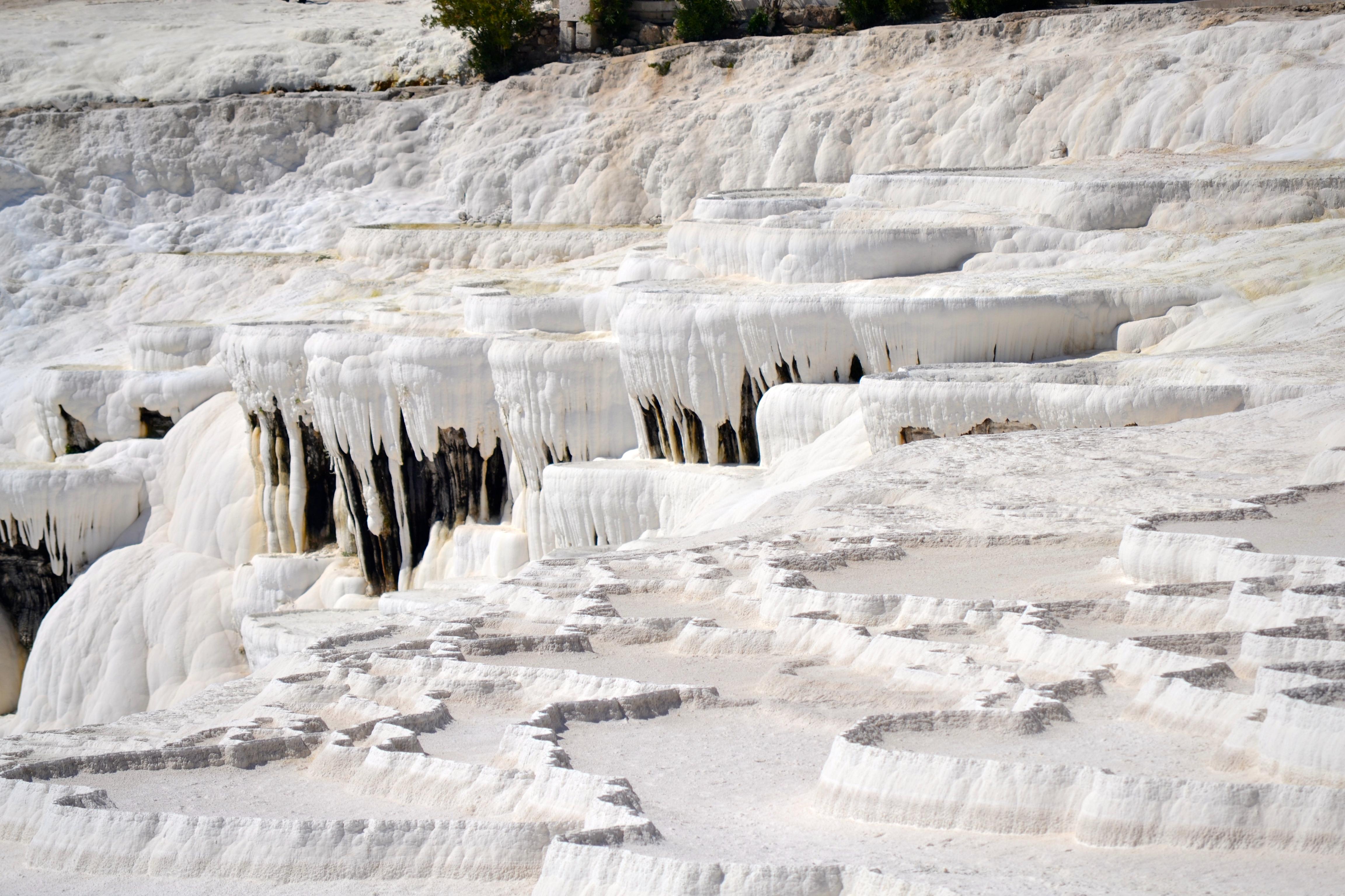 Pamukkale Calcium Carbonite formation