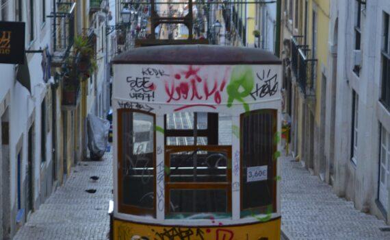 A Lisbon Funicular (Street Car)