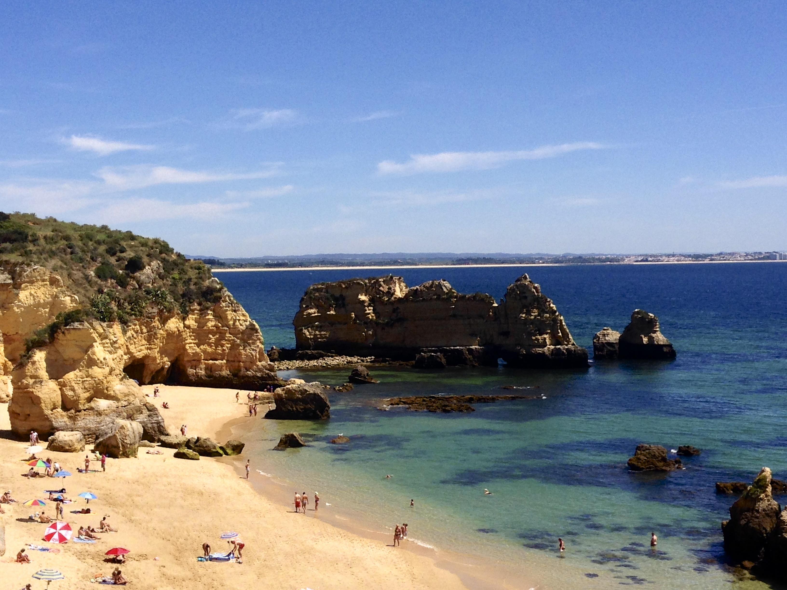 Praia Dona Ana - Algarve, Portugal