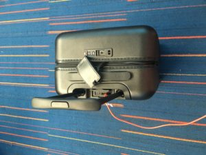 Away Suitcase Review in airport