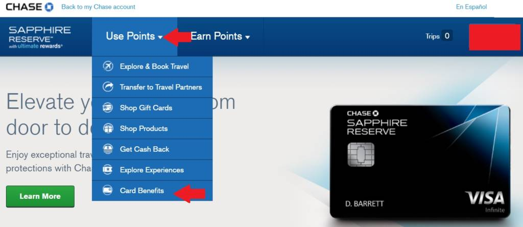 Chase Sapphire Reserve Priority Pass