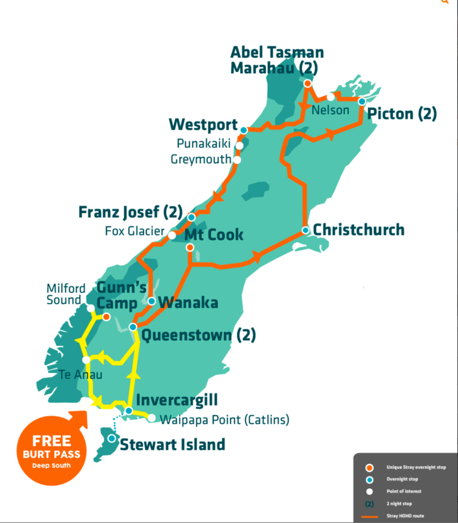Stray New Zealand Bus Review - Willy Pass and Burt Pass