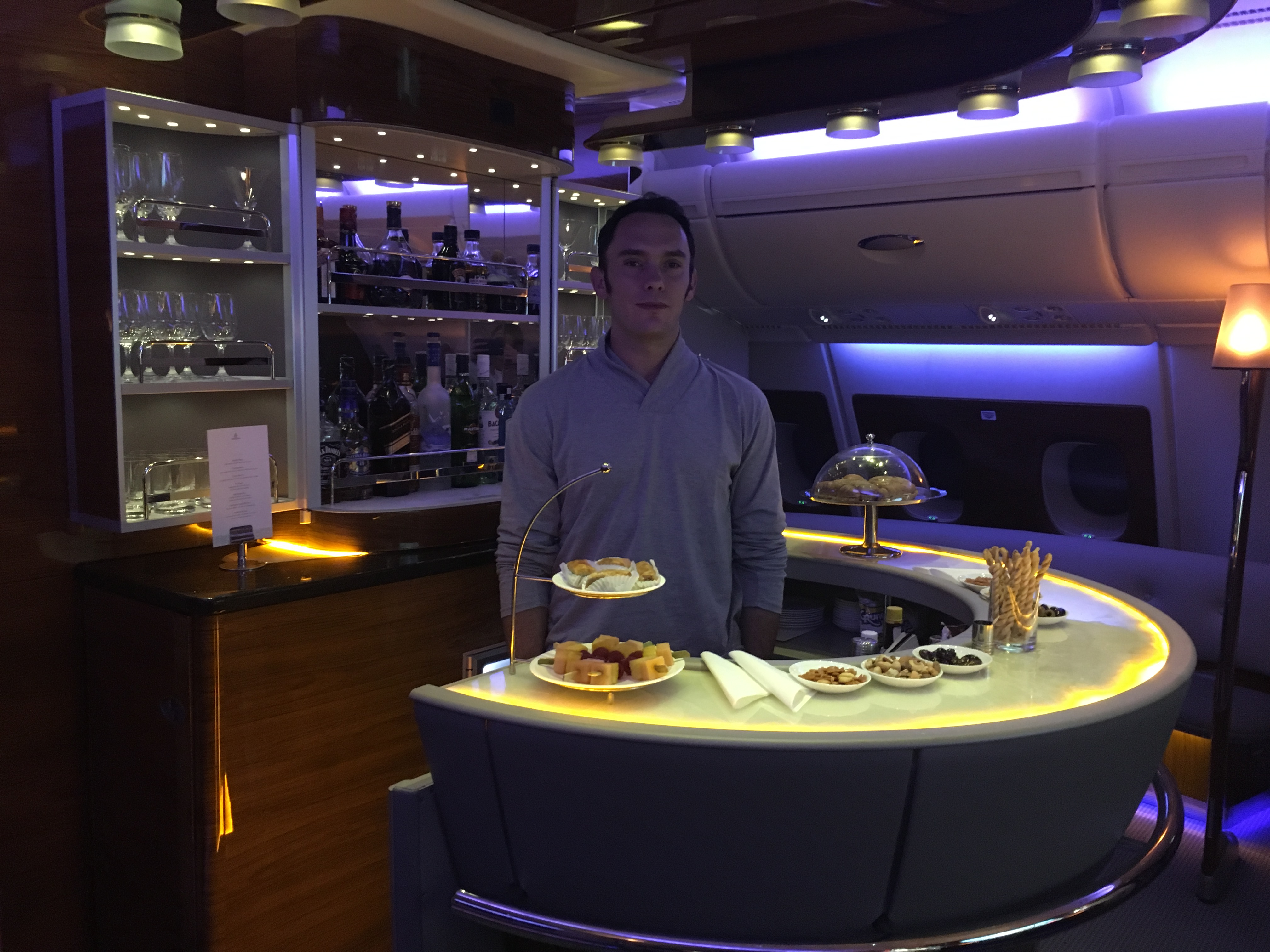 Emirates First Class A380 Review New York To Dubai